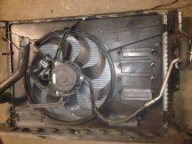 Ford Mondeo Hűtő ventilátor kerettel