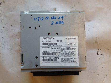 Volvo V50 Rádió fejegység