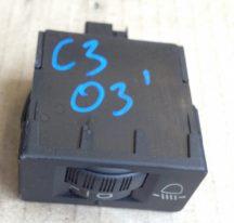 CItroen C3 Lámpamagasság állítókapcsoló