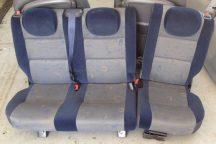 Citroen Berlingo /Peugeot Partner 1998-2007 Hátsó ülés