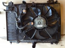 Citroen C5 III Hűtőventilátor kerettel
