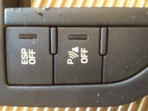 Citroen C5 III ESP és parkradar kapcsoló