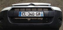 Citroen Berlingo /Peugeot Partner Első lökhárító